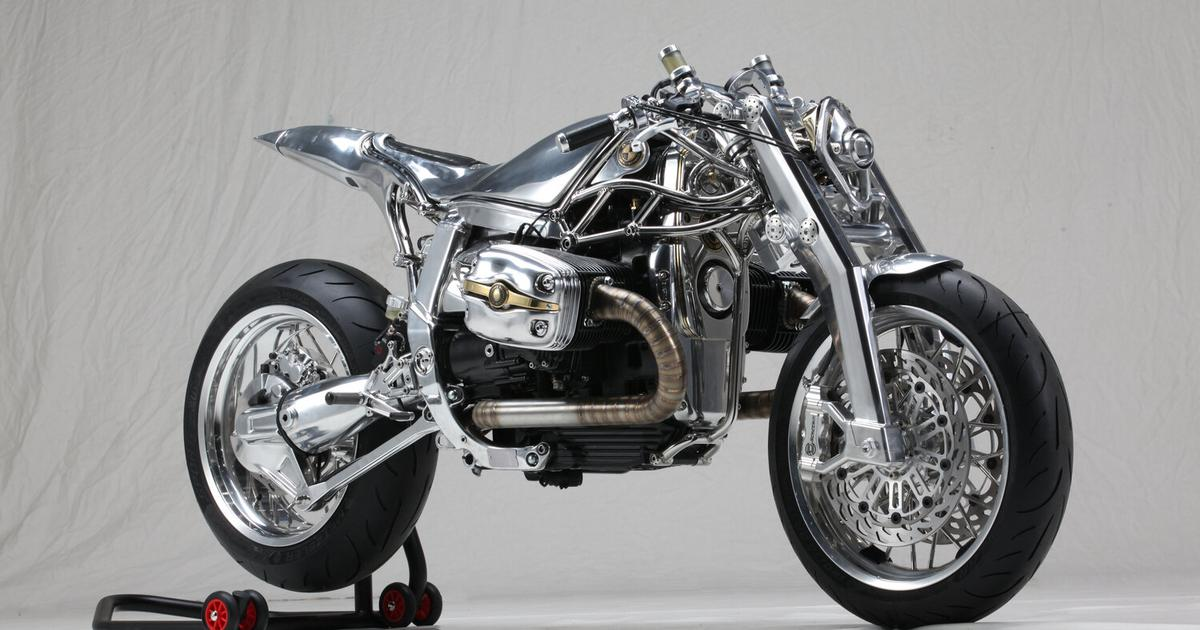 Twisted-metal BMW takes out Best of Show in Verona