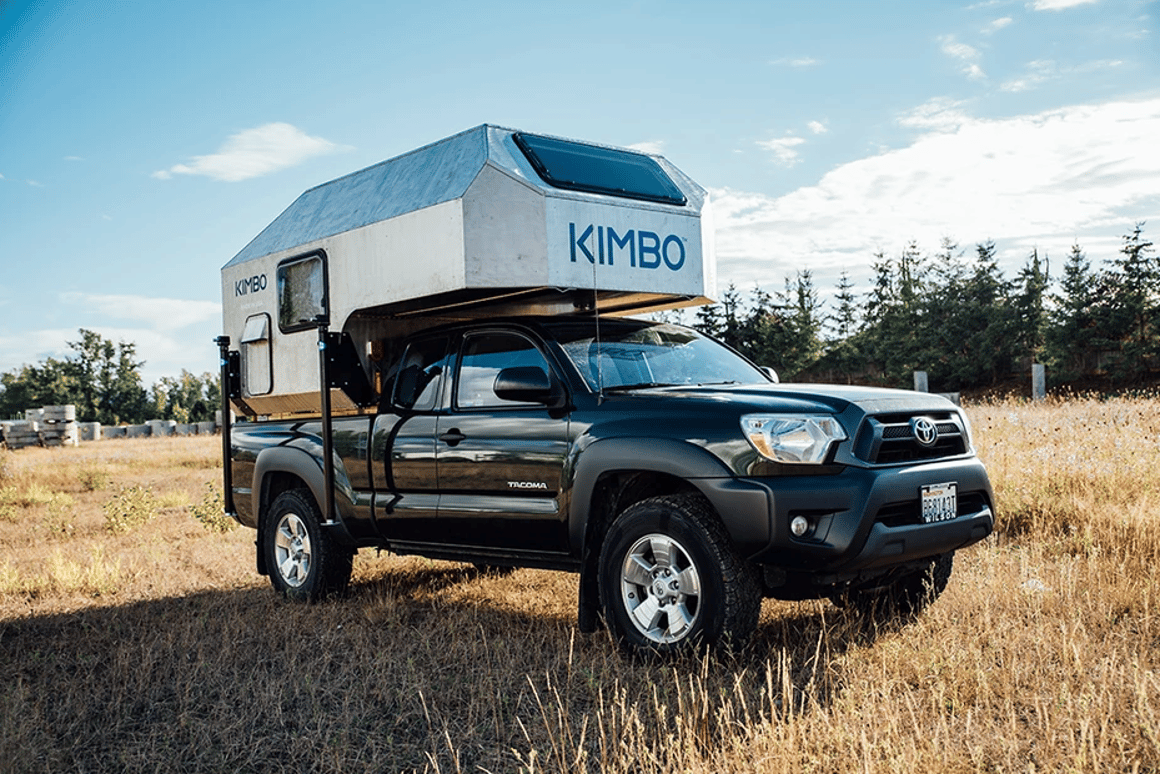 Kimbo Adventure Camper Turns Your Pickup Into A Fire Warmed