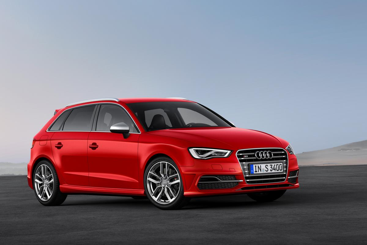 Audi has equipped the S3 Sportback with the option of LTE 4G
