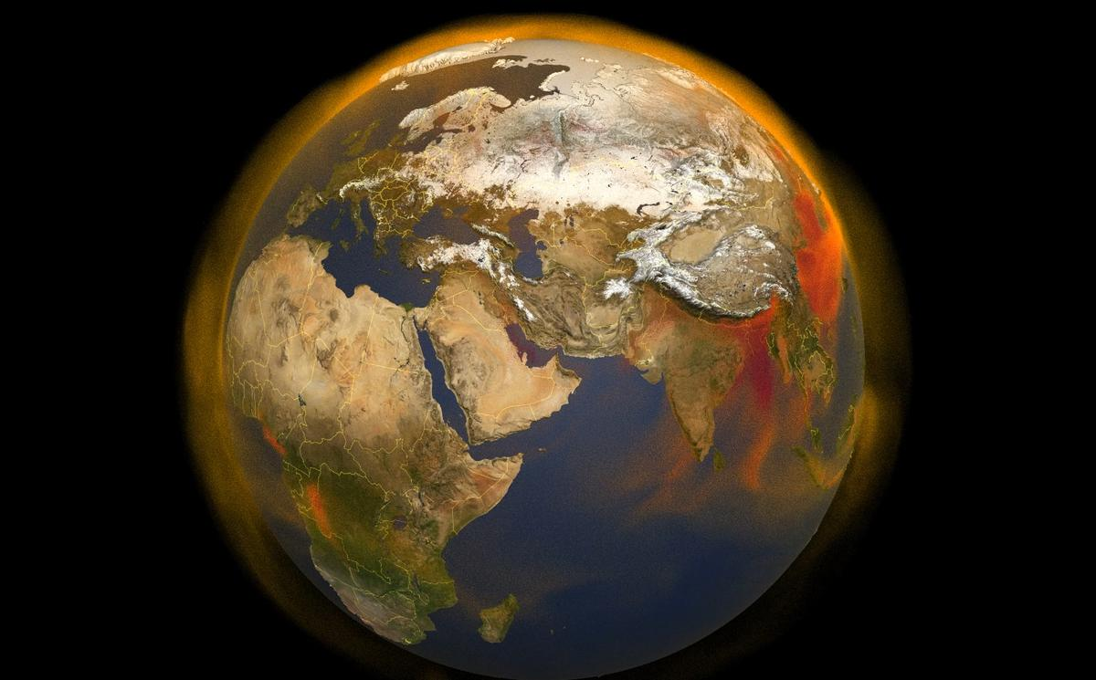 NASA has developed a new 3D map to help track methane in the atmosphere