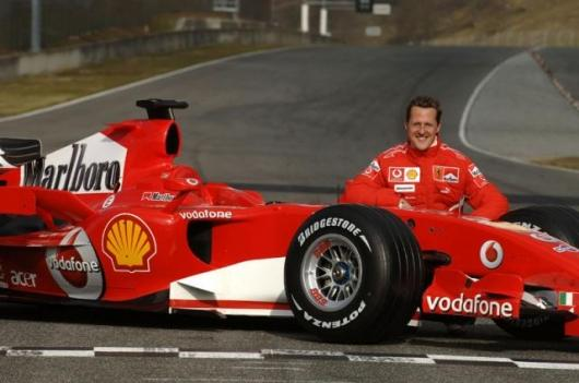Schumacher and the new 248 F1