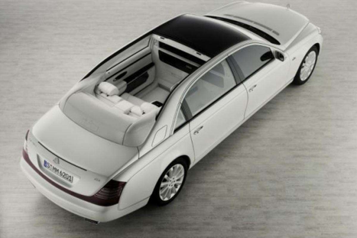 The open-top Maybach Landaulet