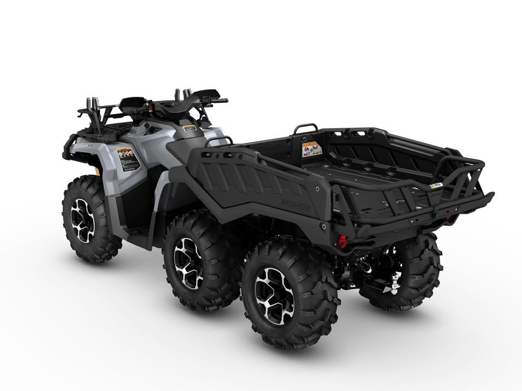 Can-Am adds an extra pair of wheels to the Outlander ATV
