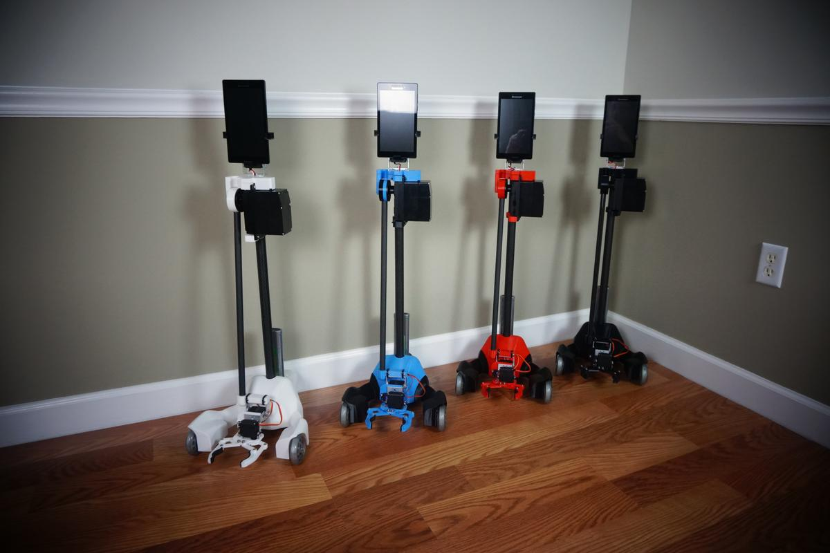 The Origibot2 should be available in the buyer's choice of four colors