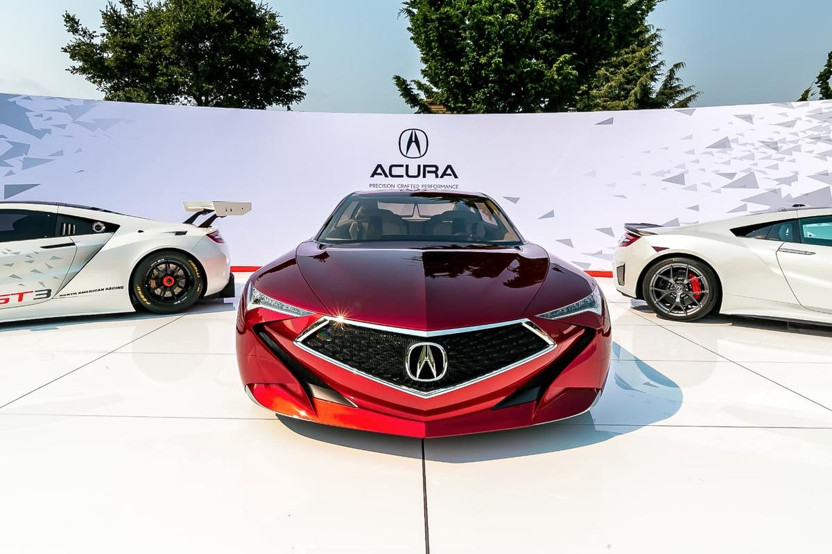 TheAcura Precision Concept points to the new direction the brand wants to take its styling