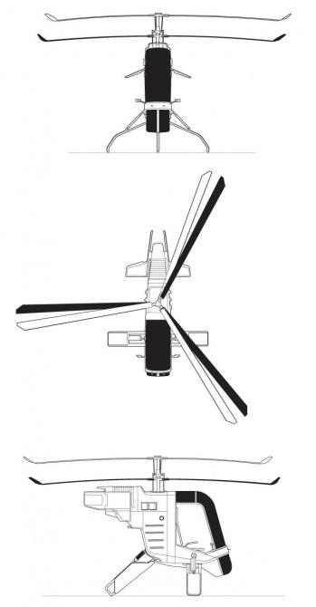The Mosquito single seater lightweight helicopter