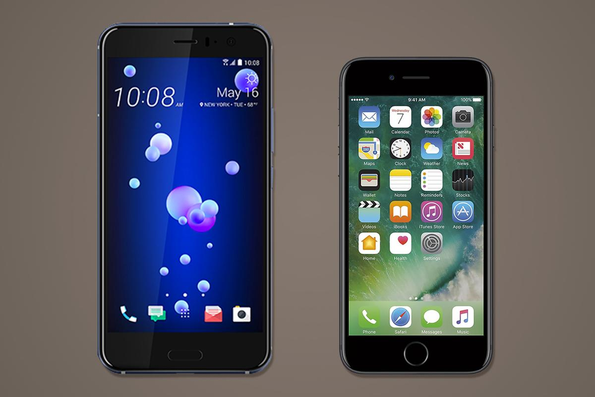 The HTC U11 and iPhone 7 have the same starting price, but beyond that, they have very relatively little in common