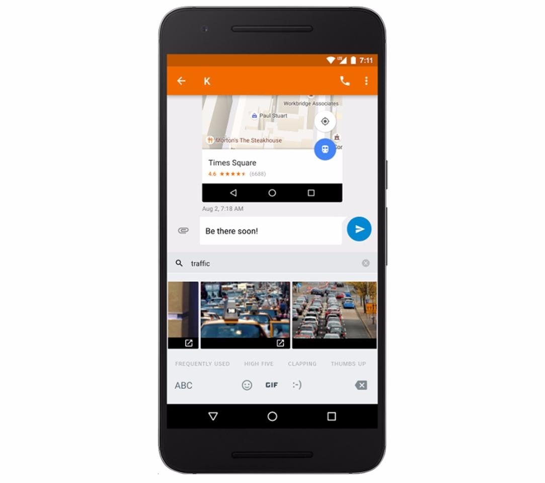 Android Nougat 7 1 1 revamps emojis, adds GIF keyboard and