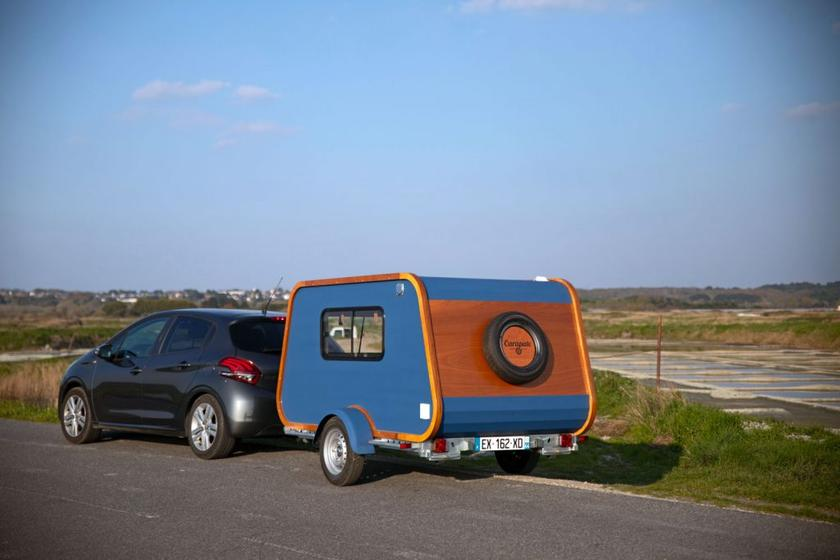 On the road with the Carapate trailer
