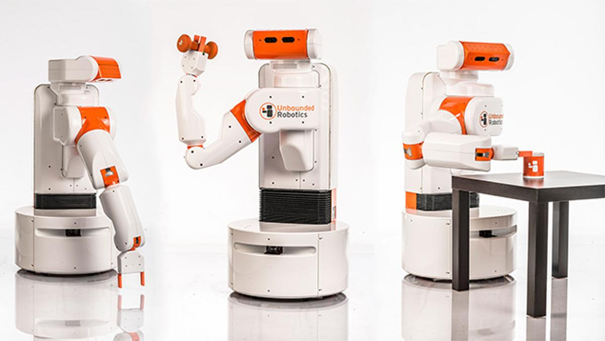 Unbounded Robotics' UBR-1 is about the price of a car (Photo: Eric Gulbransen)