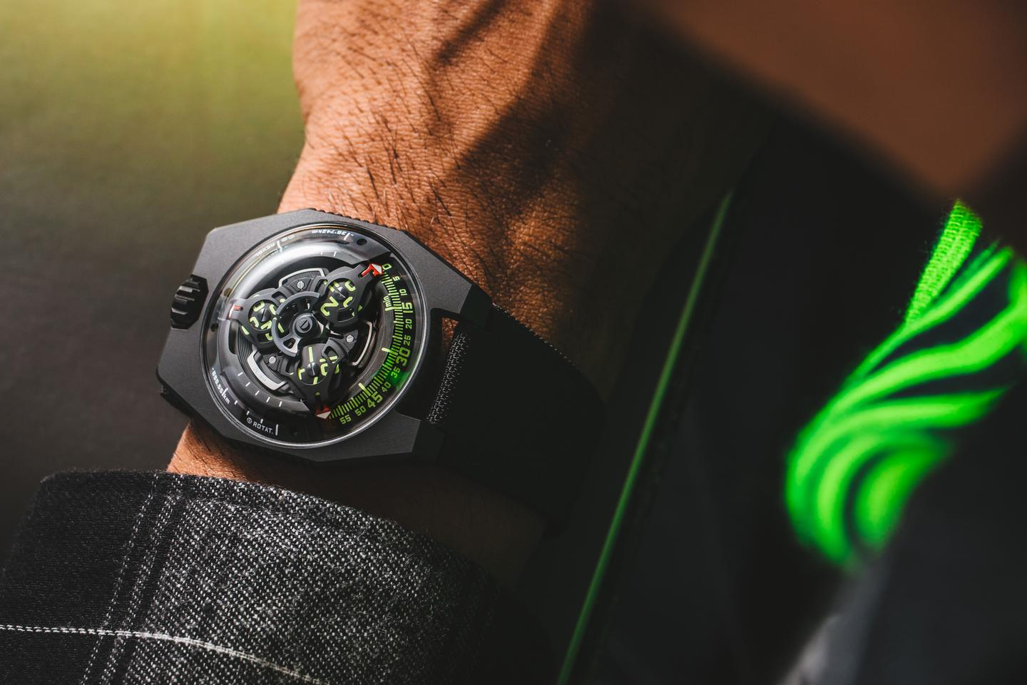 The Urwerk UR-100 SpaceTime is being released in a total of 50 units