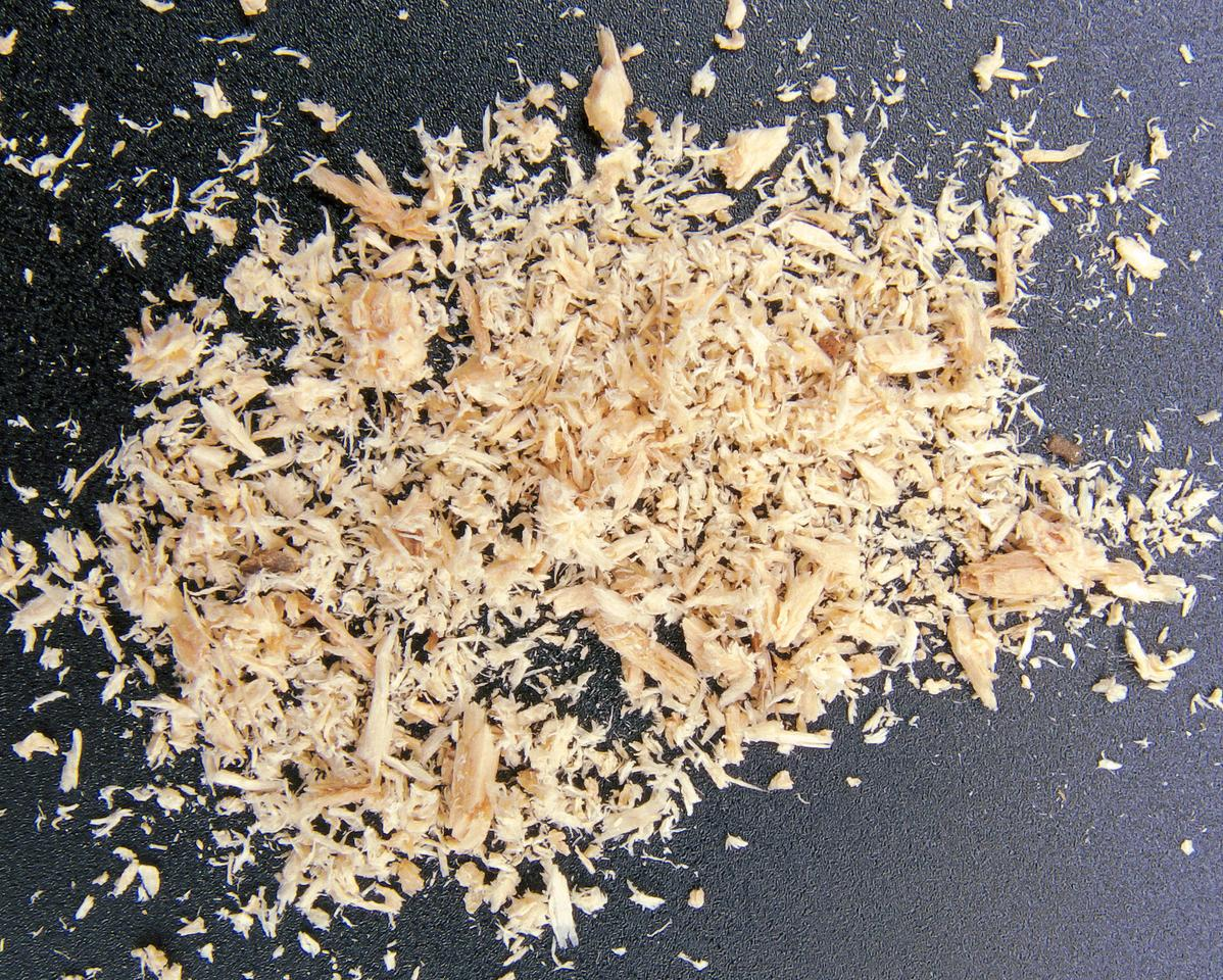 Sawdust can be converted into a fuel additive – among other things – using a new chemical process (Photo: Rasbak)