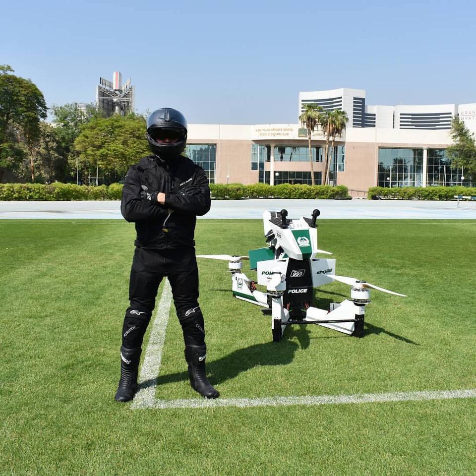 Dubai Policeare set to testprototype hoverbikes