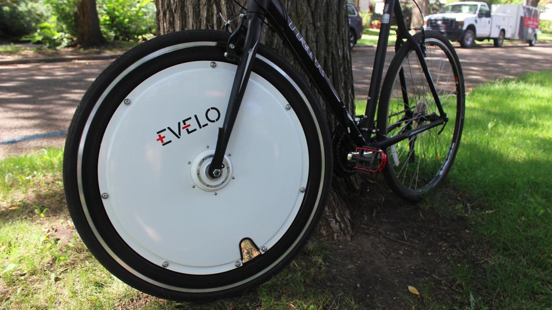 The Evelo Omni Wheel, ready to go