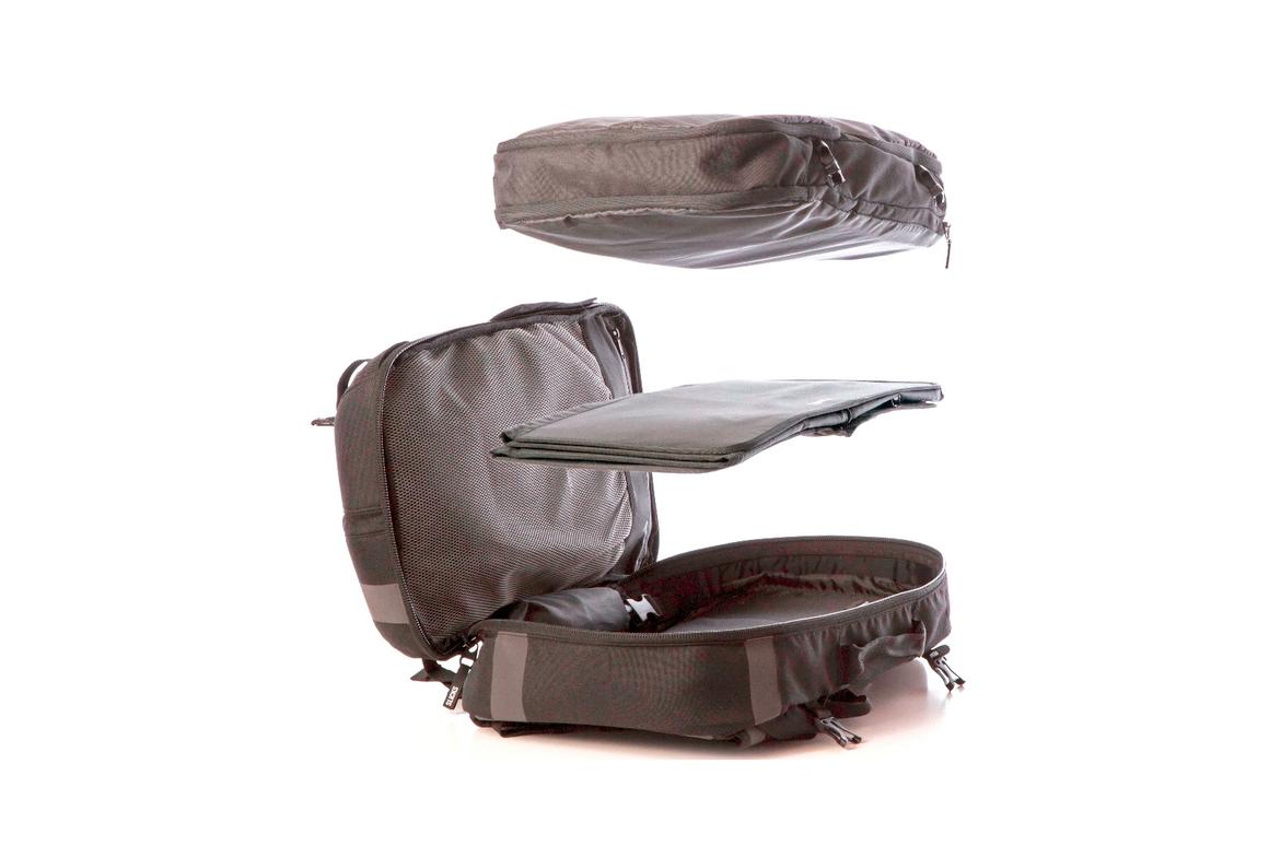 The Slicks Travel System gives you multiple options for business and leisure travel