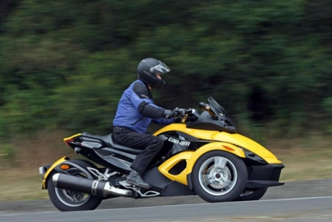 Can-Am Spyder Roadster review