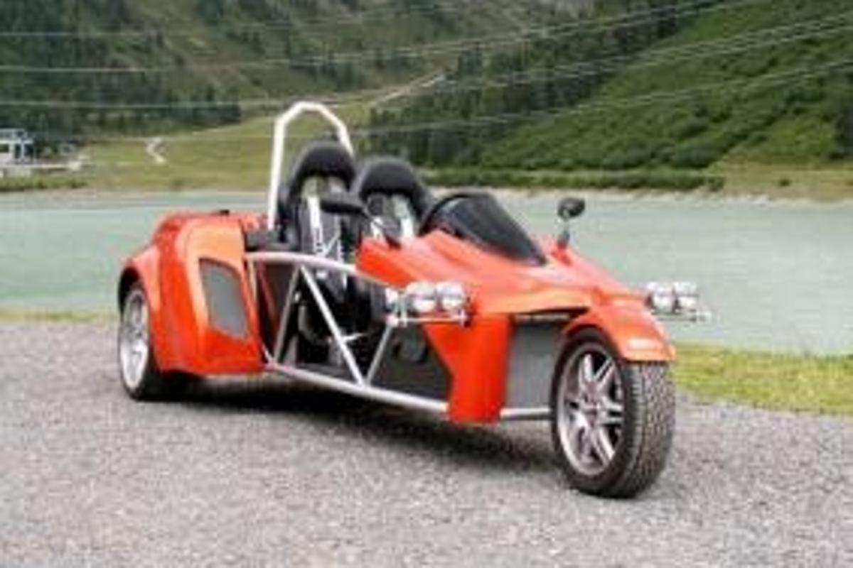 Triketek's X2 Arrow three-wheeler
