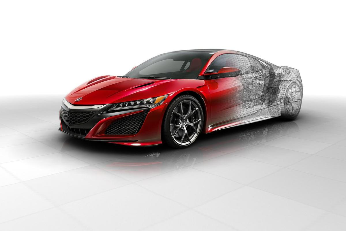 Honda has revealed more details on its forthcoming NSX