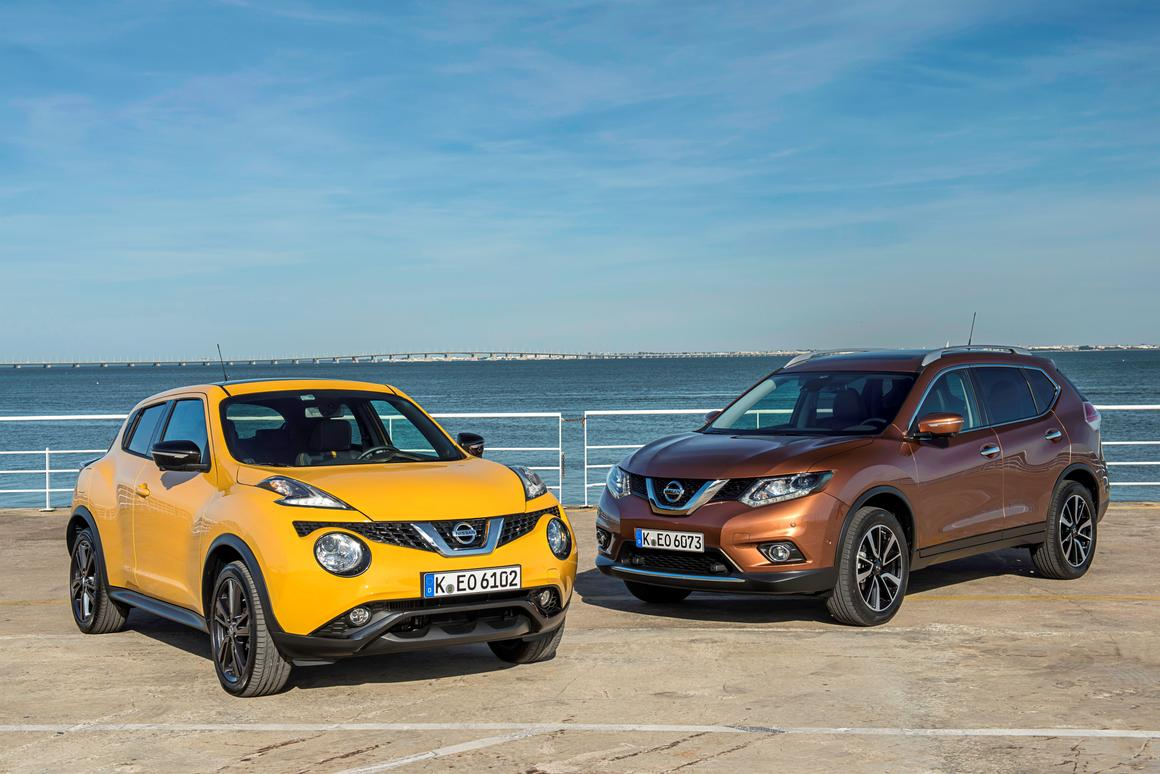Both the new Juke and X-Trail will go on sale this July