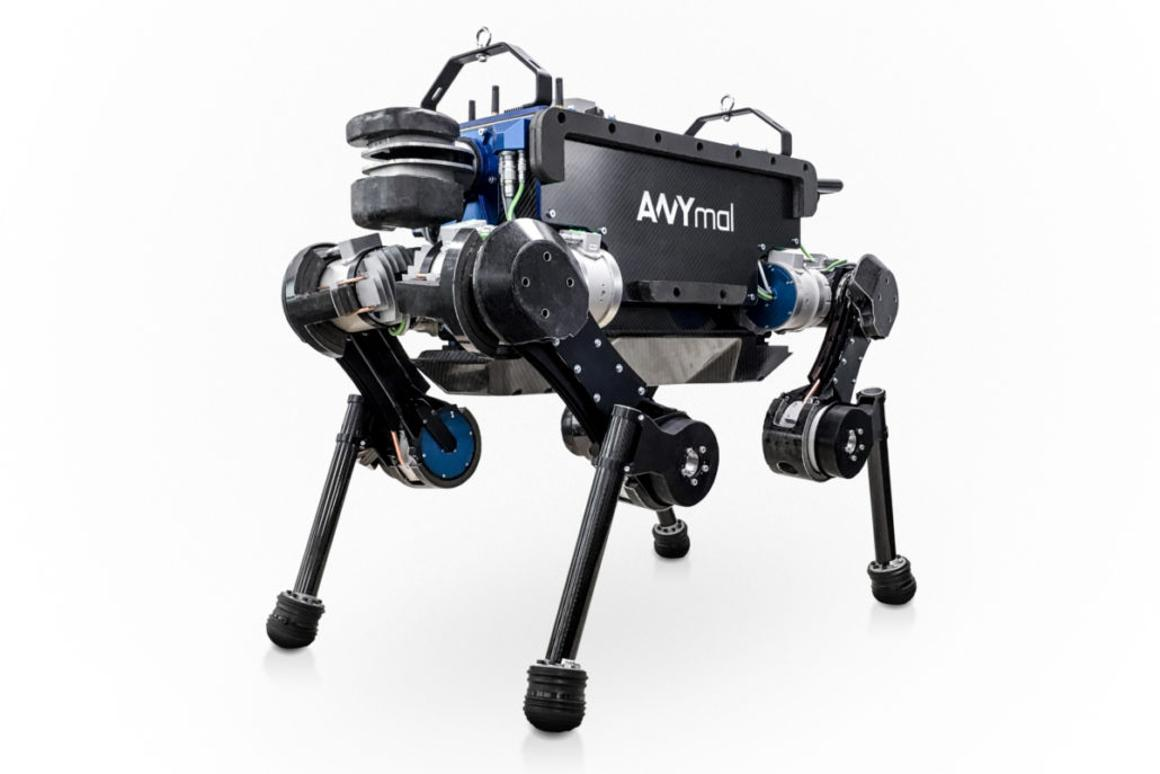 Anymal quadruped robot can now use an elevator