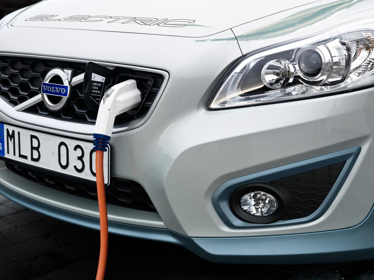 Volvo is testing the charger on its C30 EVs