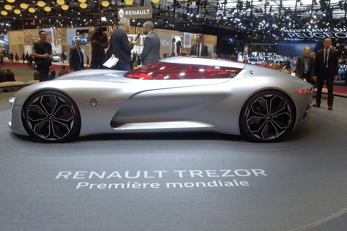 TheRenault Trezor was high on our list of favorites from the 2016 Paris Motor Show