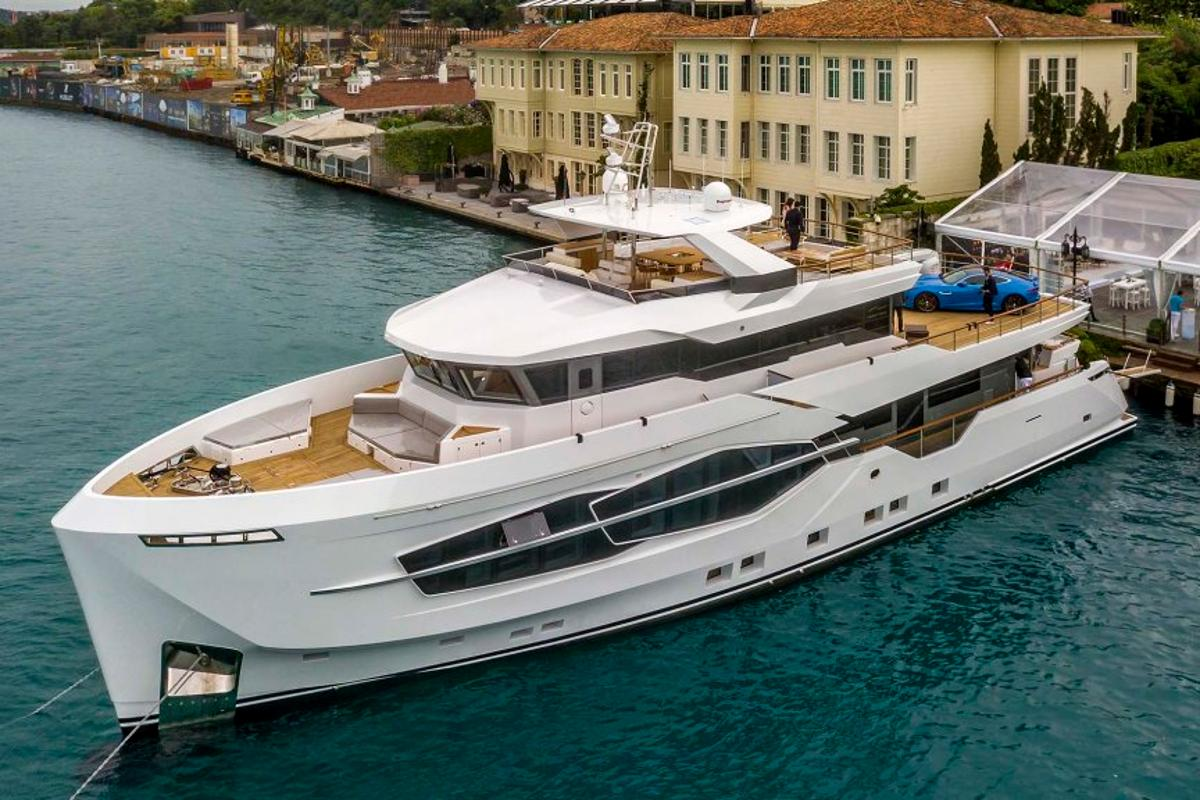 Turkish shipyard Numarine has recently launched its very first 32-meter (105-ft) explorer yacht