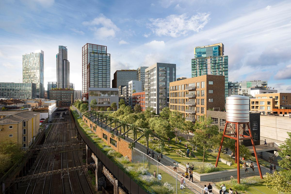 Bishopsgate Goodsyard will measure approximately 4.4 hectares (10.8 acres)