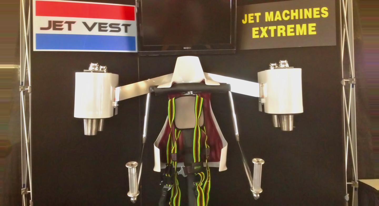 Mock-up of the Jet Vest, currently under development by Jet Machines Extreme (Photo: JME)