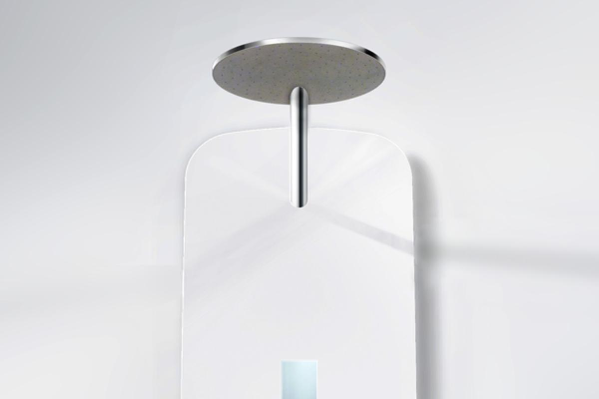 Orbital Systems is developing a new household shower that recycles any water that goes down the drain by purifying it and sending it back to the shower head