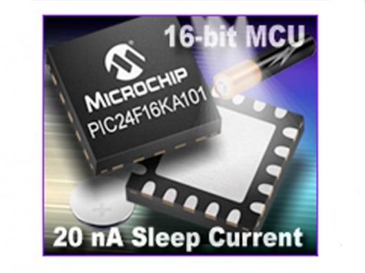 The low power nanoWatt XLP microcontrollers