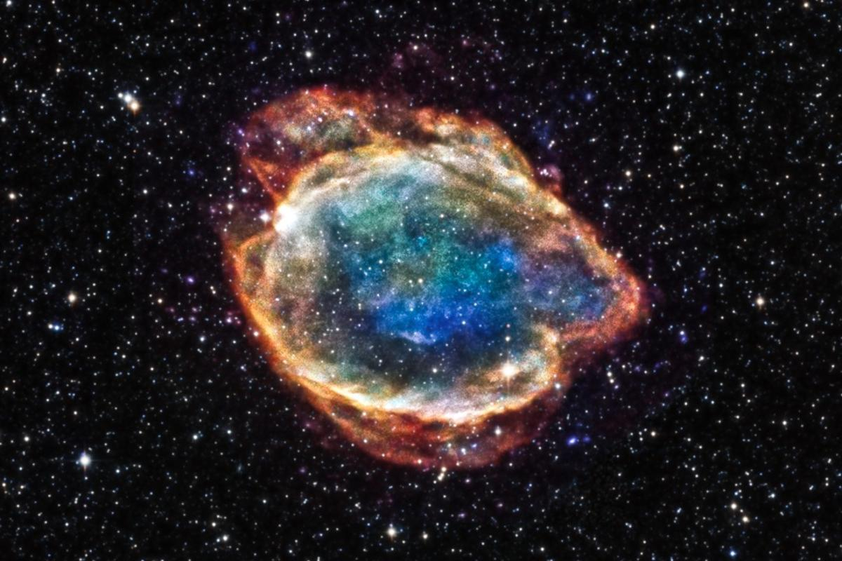 The new supernova is a Type Ia specimen. This supernova remnant, found in the Milky Way and called G299, is what was left over after a Type Ia explosion. It was captured by the Chandra X-Ray Observatory.