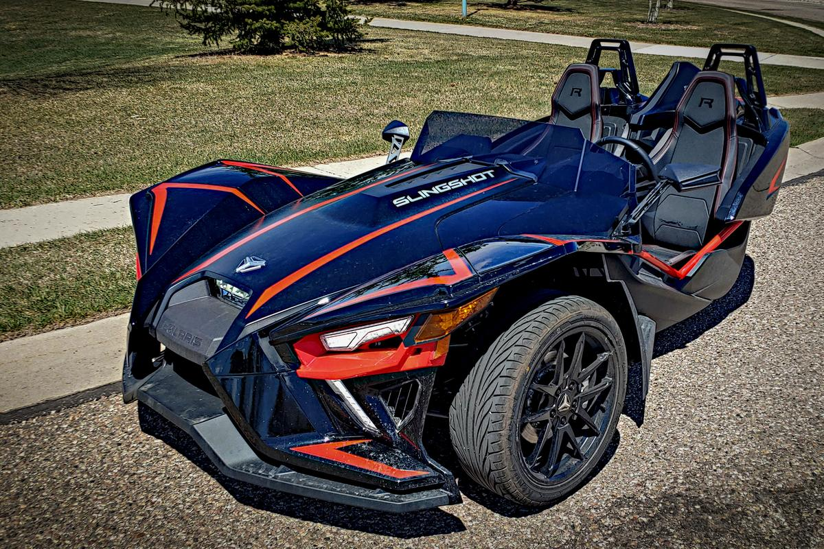 """It looks like the Batmobile,"" is a common reaction to the Polaris Slingshot"