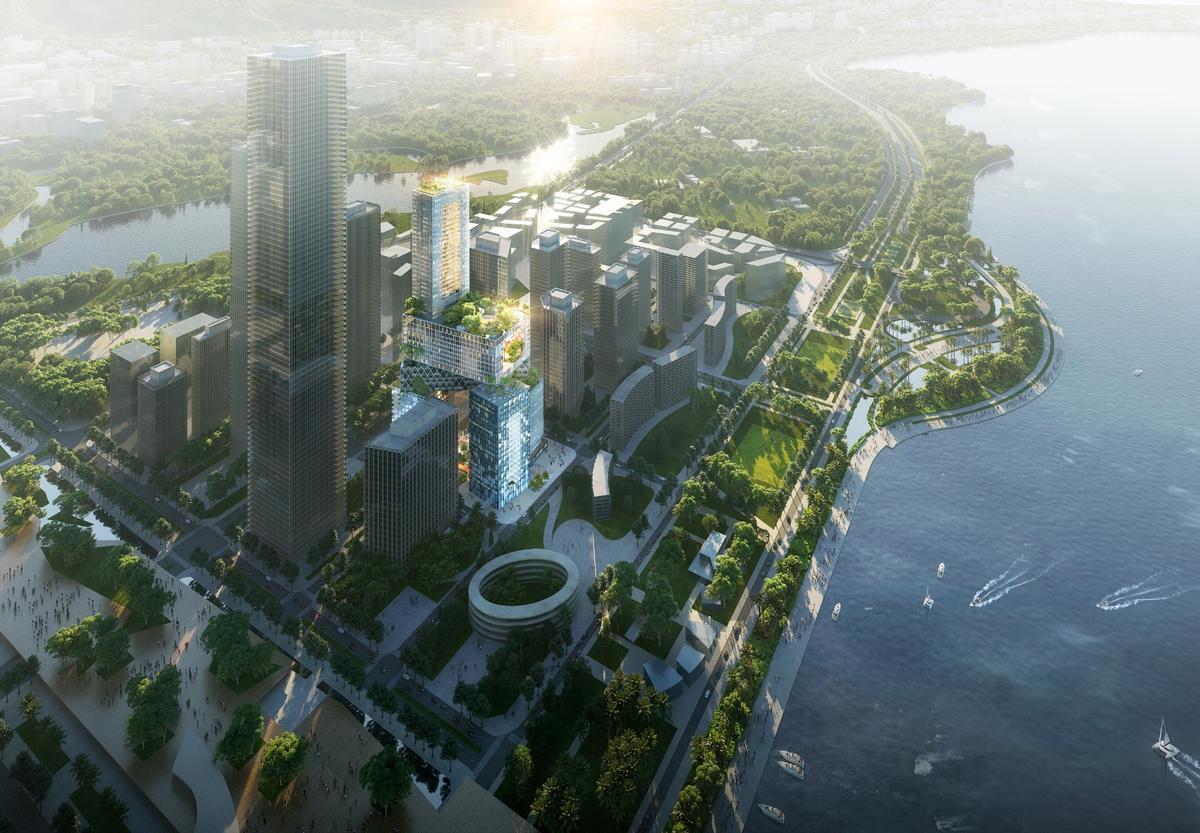 Vanke Headquarter Tower will belocated in Shenzhen, China