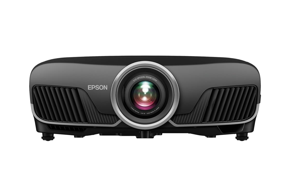 The Epson Pro Cinema 6050UB home theater projector can output 4K HDR content at 60 Hz