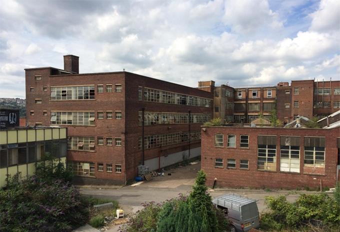 If the crowdfunding campaign is successful, the cabin could be based in a disused factory in Leeds (pictured)