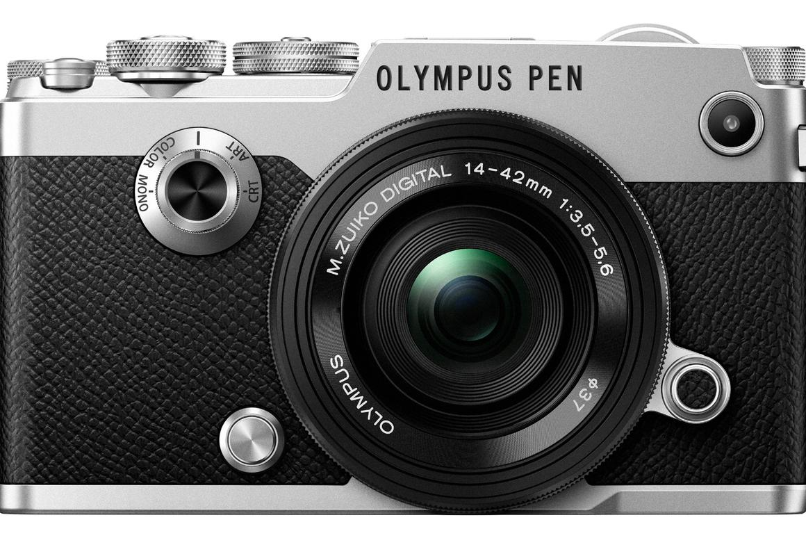 The Olympus PEN-F looks like it has come straight from the 1960s, but is full of mod cons