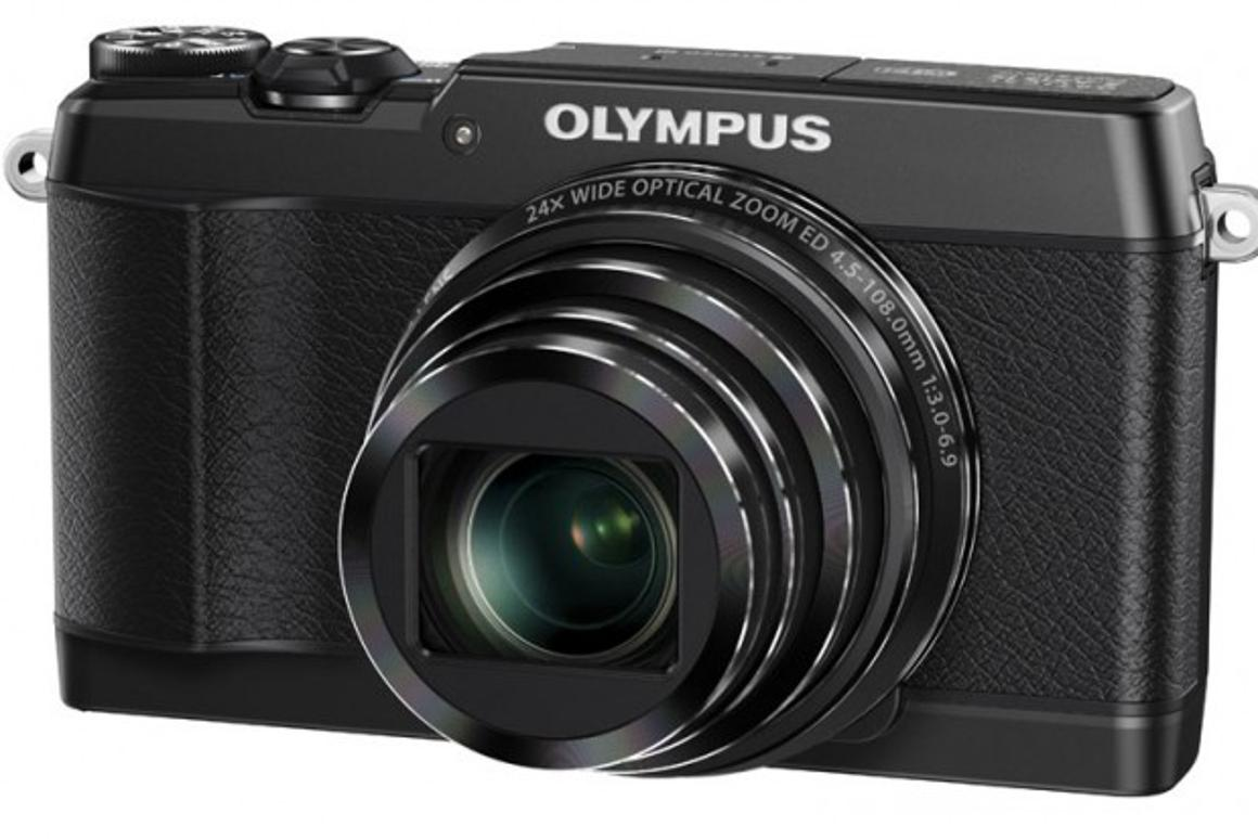 The Olympus Stylus SH-1 features 5-axis mechanical image stabilization