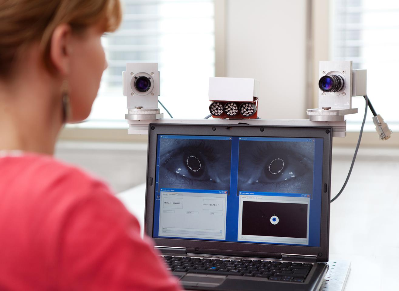 Fraunhofer's Eyetracker driver monitoring system