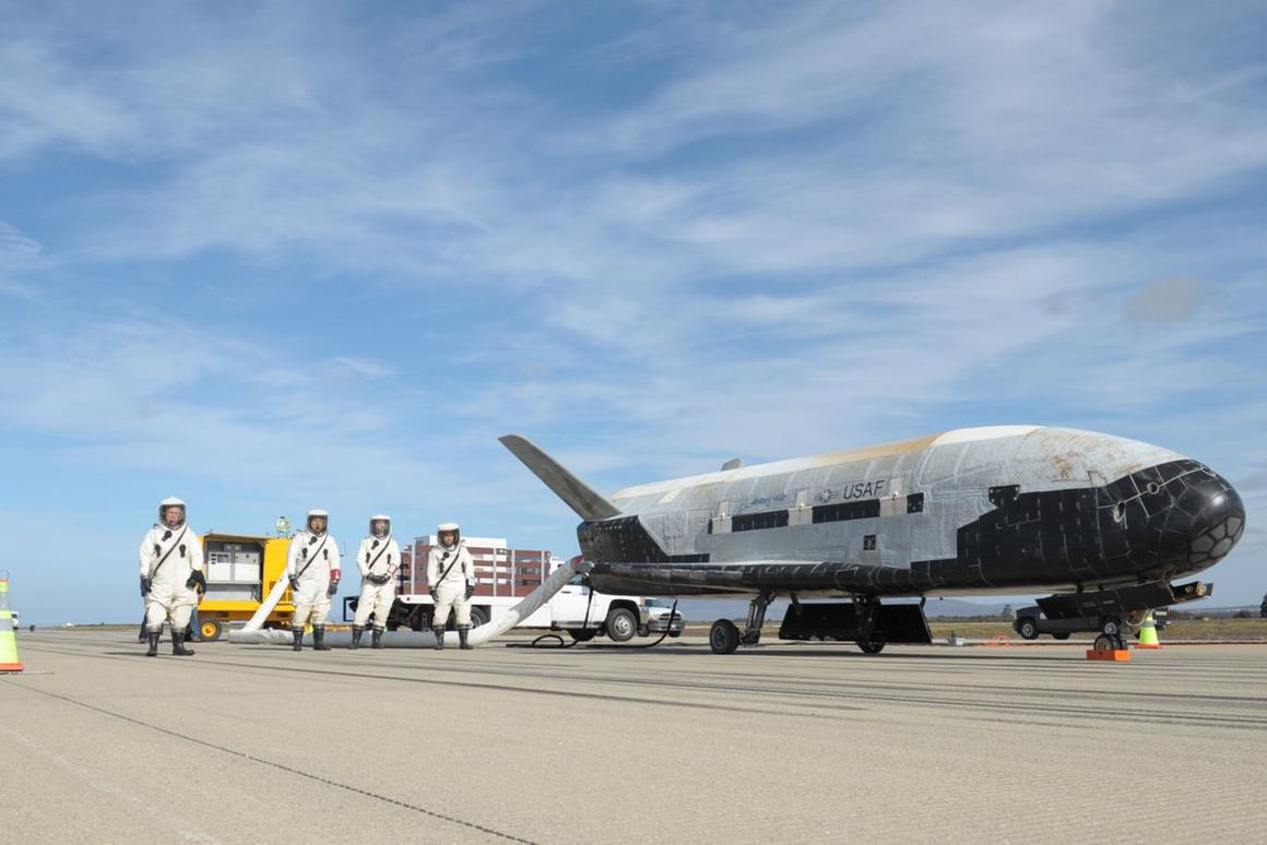 The X-37B has flown four times before