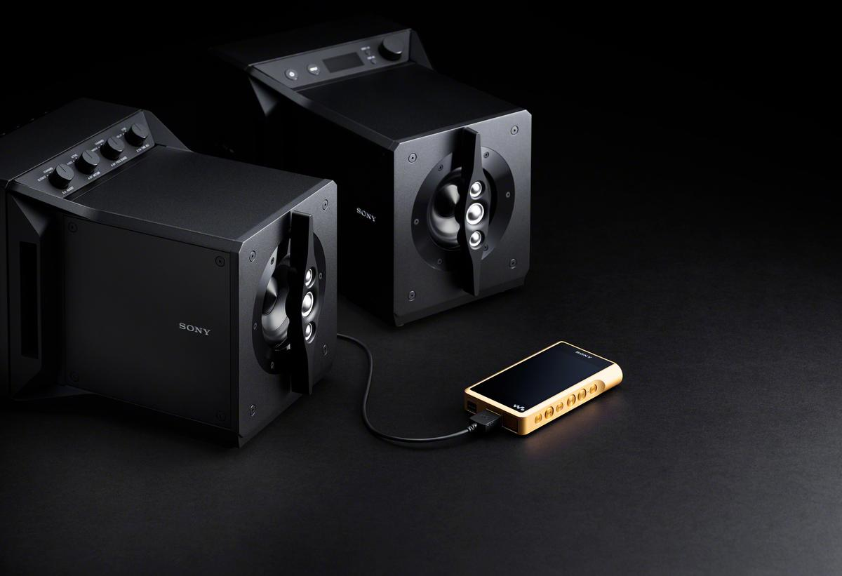 The Signature Series SA-Z1 powered near-field speakers can be connected to a computer, portable music player or hi-fi setups