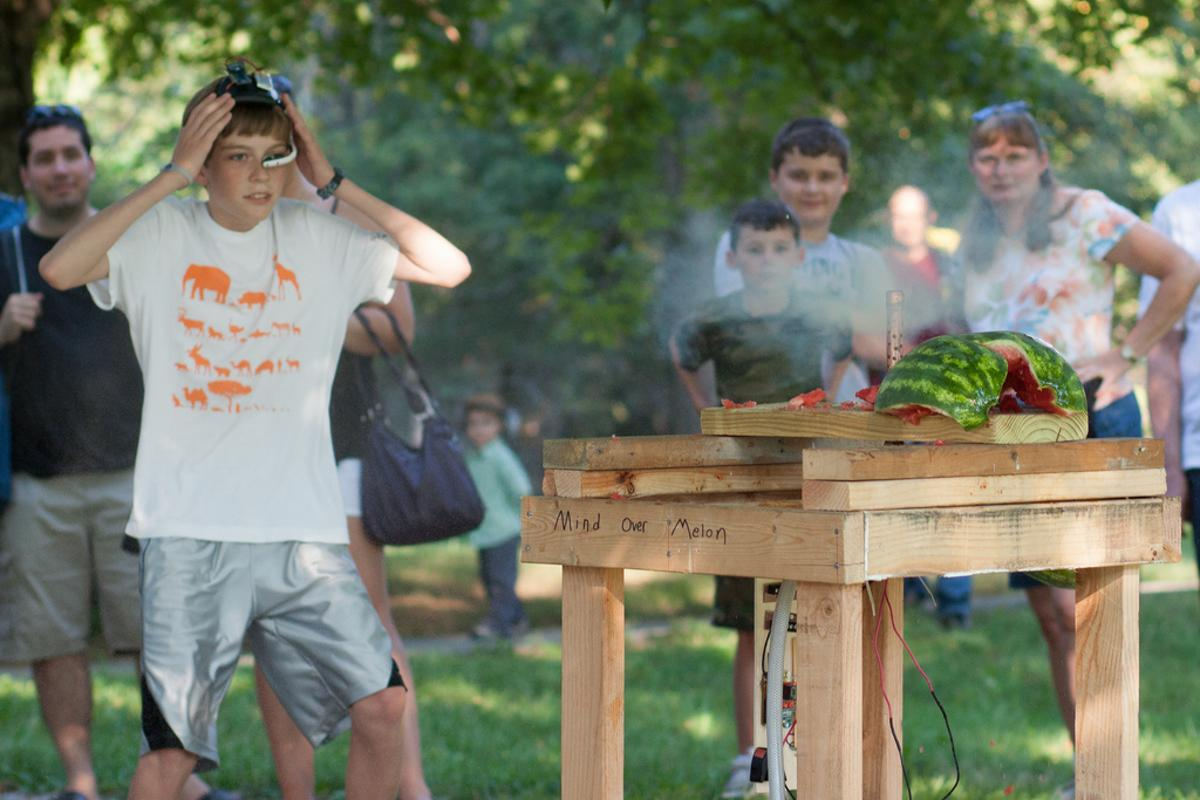 Boom! Mind powers equals exploding melons (Photo: Nick Elrod on Flickr)