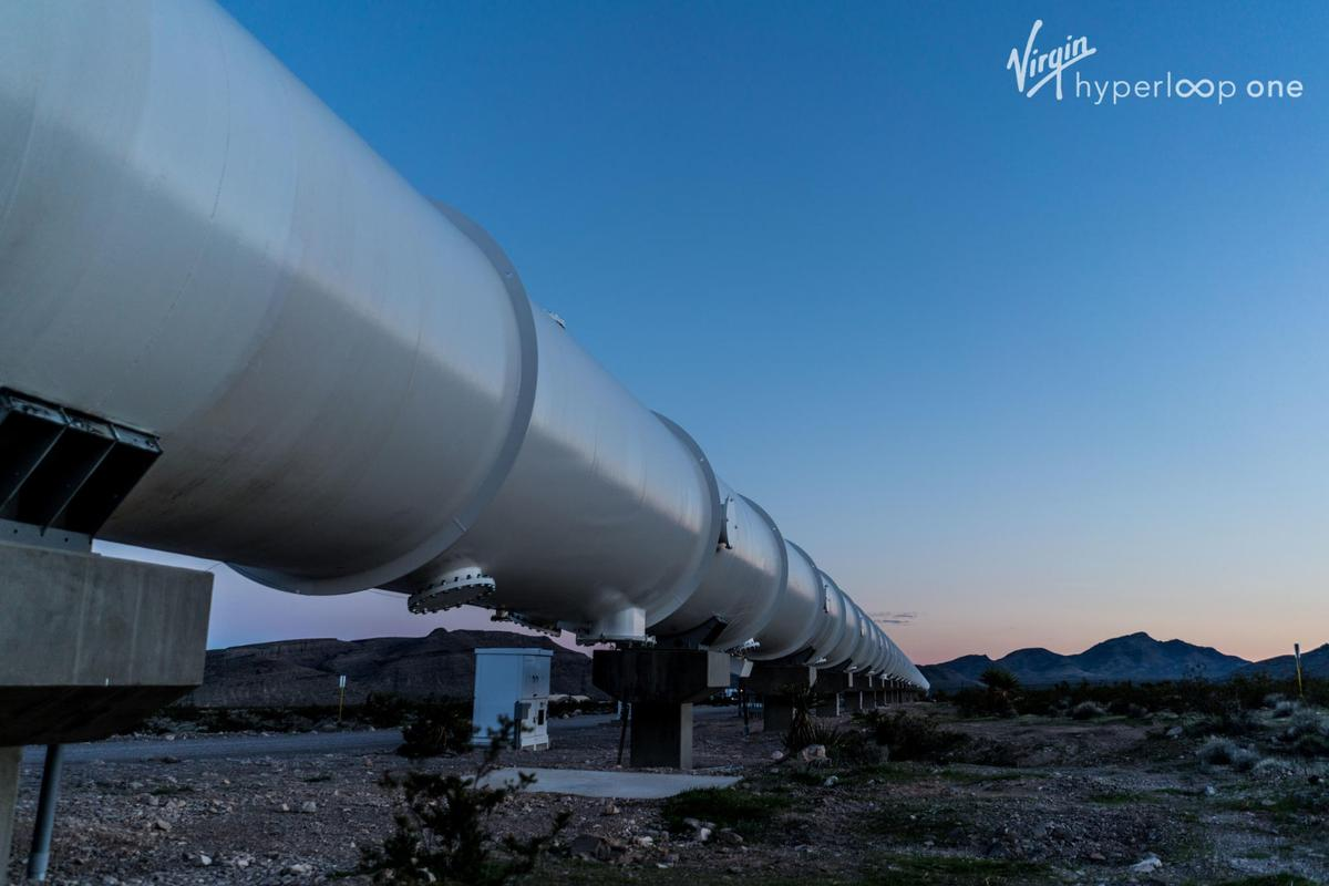 A new research centerfor Virgin Hyperloop One will span 19,000 sq min southern Spain