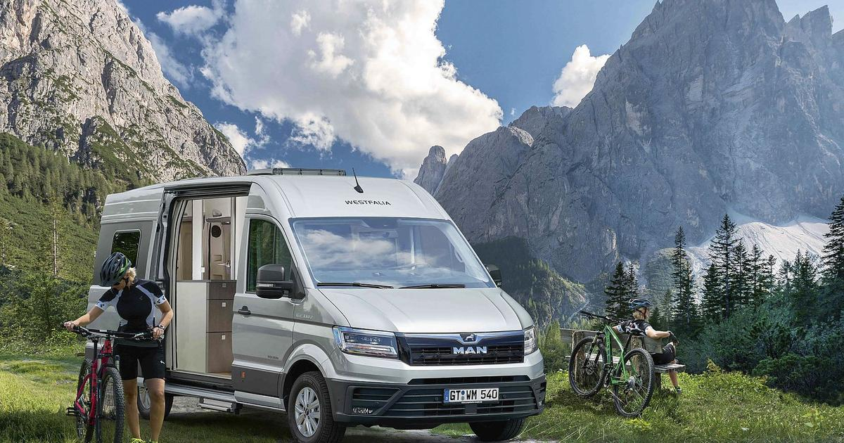 Westfalia's new VW camper van is a full-grown MAN
