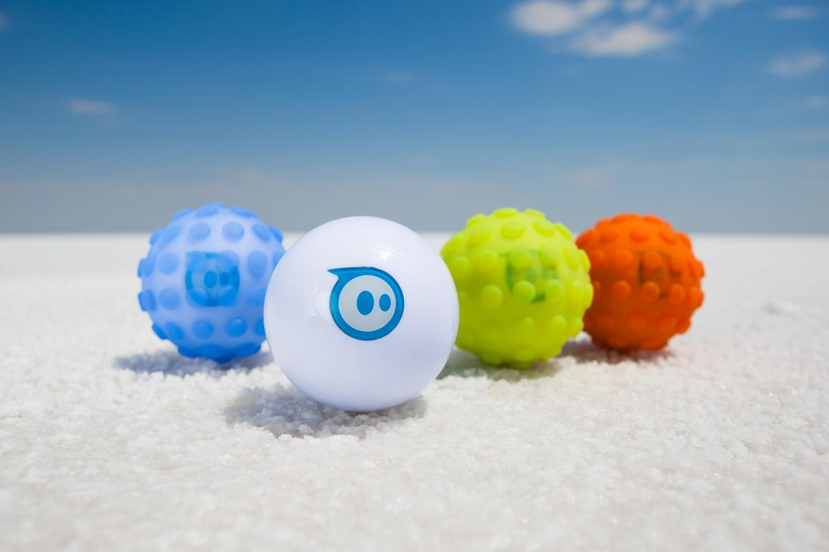 The Sphero 2.0 can roll along at an impressive 7 ft (2 m) per second