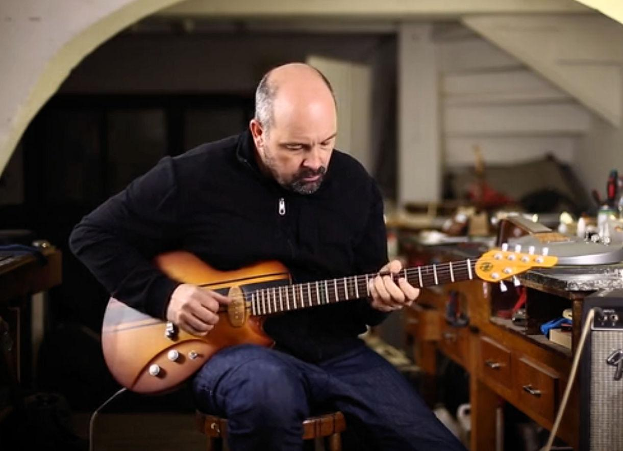 Jean-Yves Alquier & Co havelaunchedthe Cosmic One eco-friendly guitar on Kickstarter