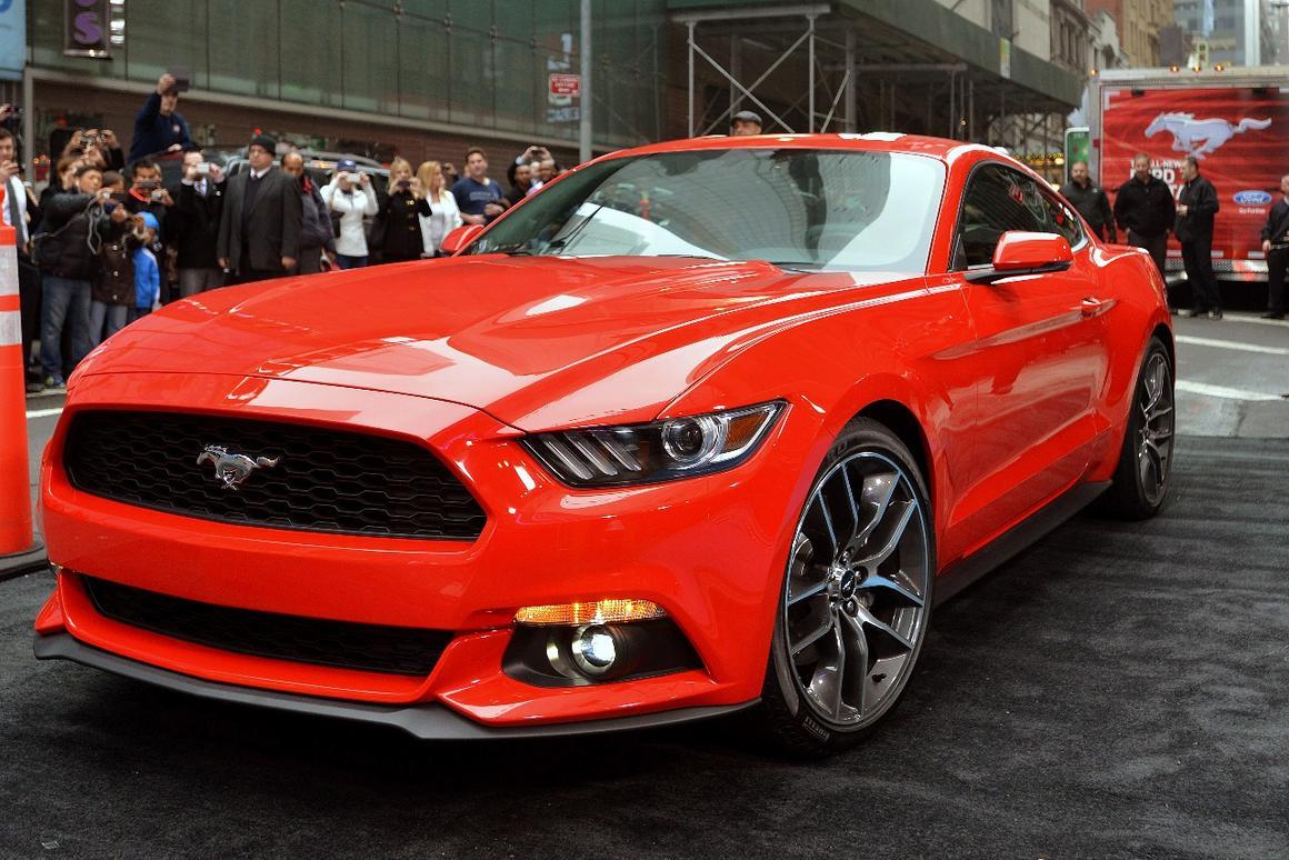The 2015 Mustang debuts