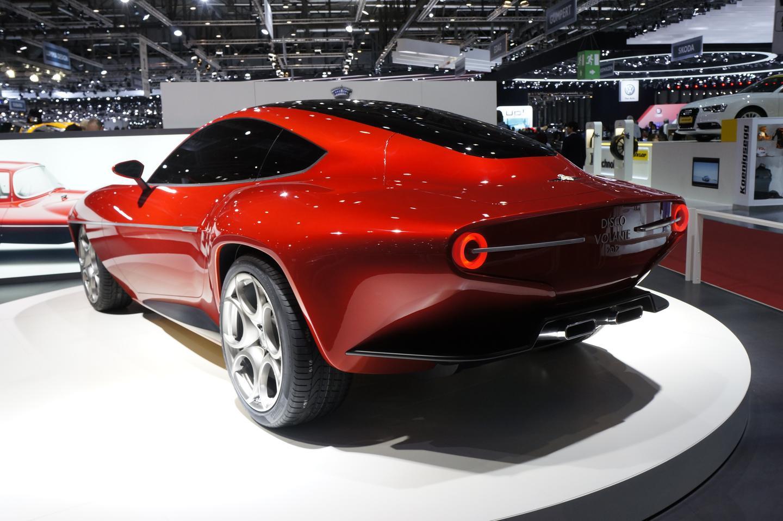 The Disco Volante 2012 reflects the classic design of its 1952 counterpart (Image: Alfa Romeo)