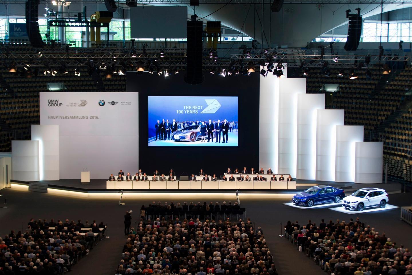 BMW's shareholder meeting