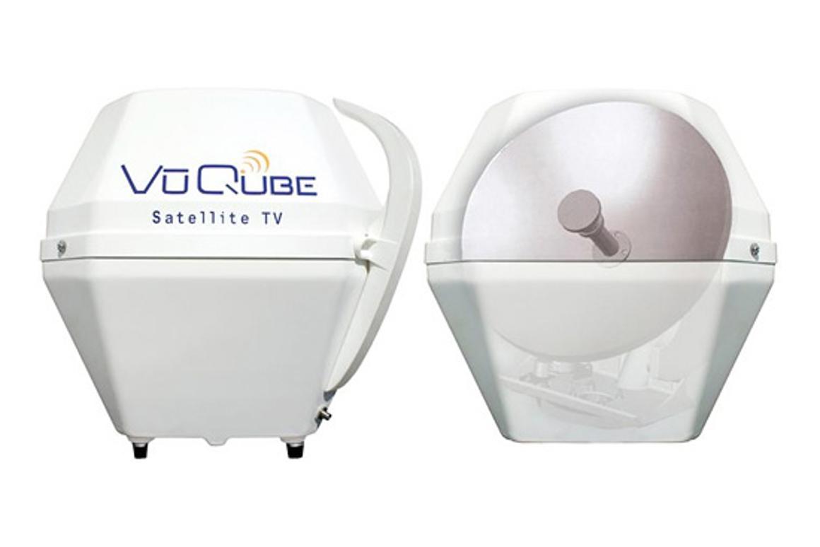 VuQube VQ3000 portable satellite system